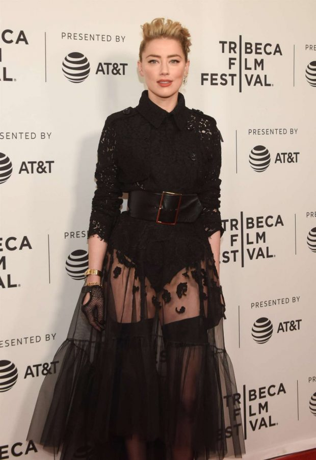 Amber Heard - 'Gully' Premiere at Tribeca Film Festival in New York City