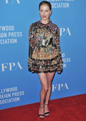 Amber Heard - Hollywood Foreign Press Association Annual Grants Banquet in LA