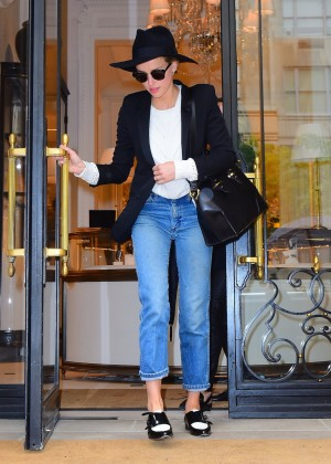 Amber Heard in Jeans Out in New York City