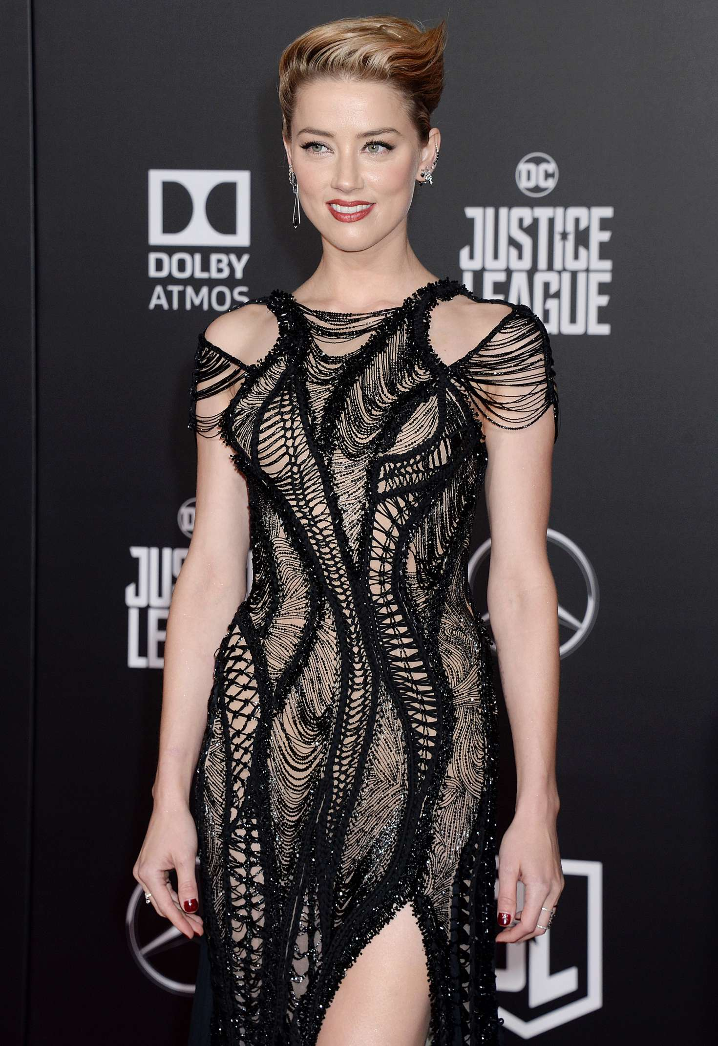 Amber Heard - 'Justice League' Premiere in LA