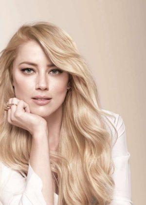 Amber Heard - L'Oreal Paris Celebrates Women Who 'Own It' Hair Color Campaign 2019