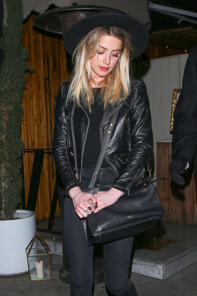 Amber Heard 2016 : Amber Heard: Leaving Rihannas Christmas Party -08