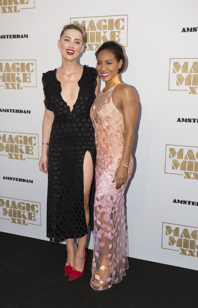 Amber Heard - 'Magic Mike XXL' Premiere in Amsterdam