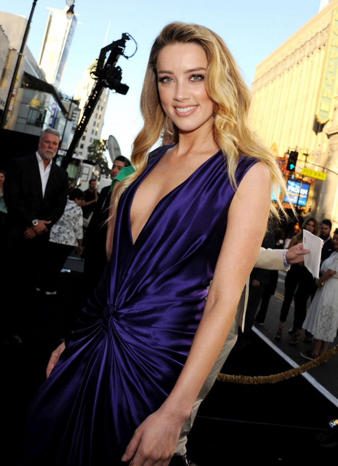 Amber Heard - 'Magic Mike XXL' Premiere in LA