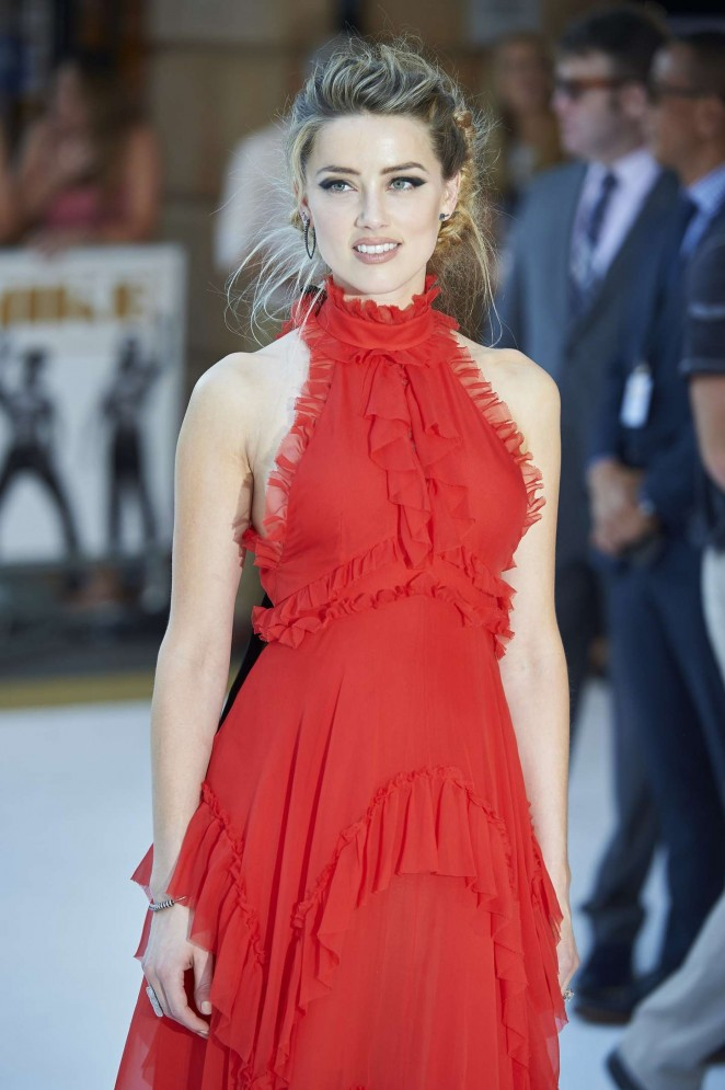 Amber Heard - 'Magic Mike XXL' Premiere in London