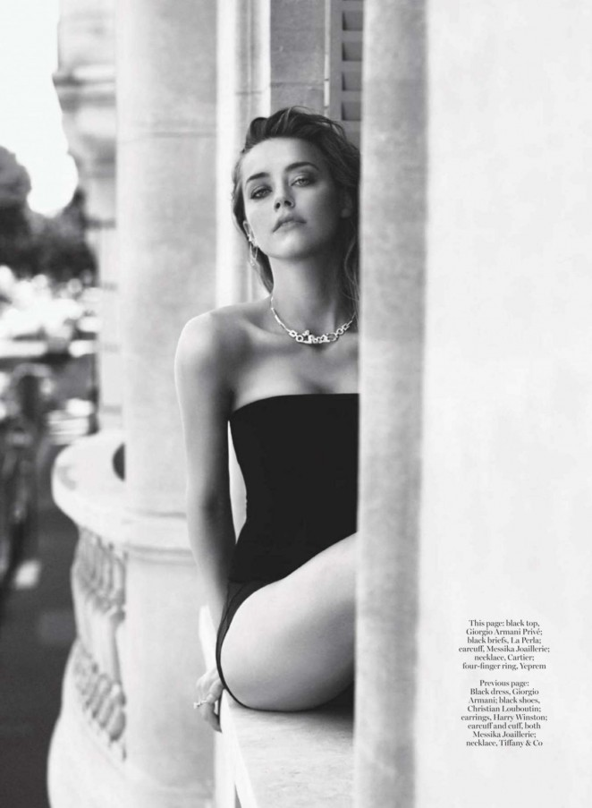 Amber Heard - Marie Claire UK Magazine (February 2016)