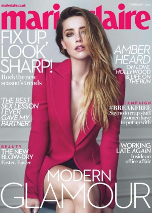 Amber Heard: Marie Claire UK 2016 -04