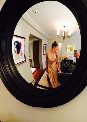 Amber Heard: Met Gala 2016 Photo Diary -07
