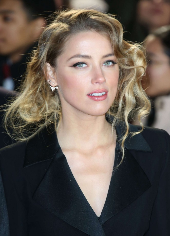 "Amber Heard - ""Mortdecai"" Premiere in London"