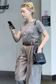 Amber Heard on Wilshire Blvd in Los Angeles