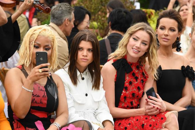 Amber Heard - Oscar De La Renta Fashion Show in NY