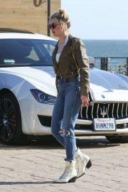 Amber Heard - Out for a dinner at Nobu in Malibu