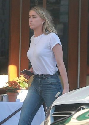 Amber Heard - Out in Beverly Hills