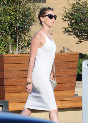 Amber Heard out in Malibu