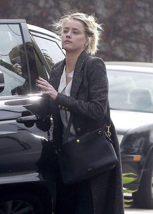 Amber Heard Out Shopping in West Hollywood
