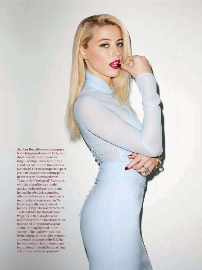 Amber Heard - Palace Costes Magazine (November December 2015)
