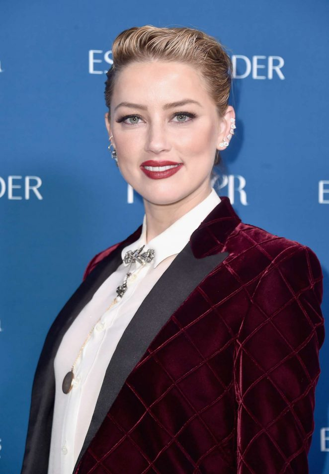 Amber Heard - Porter's 3rd Annual Incredible Women Gala in LA