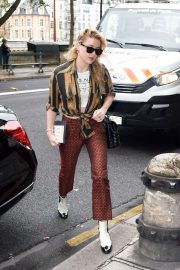 Amber Heard - Shopping at the Chanel store in Paris