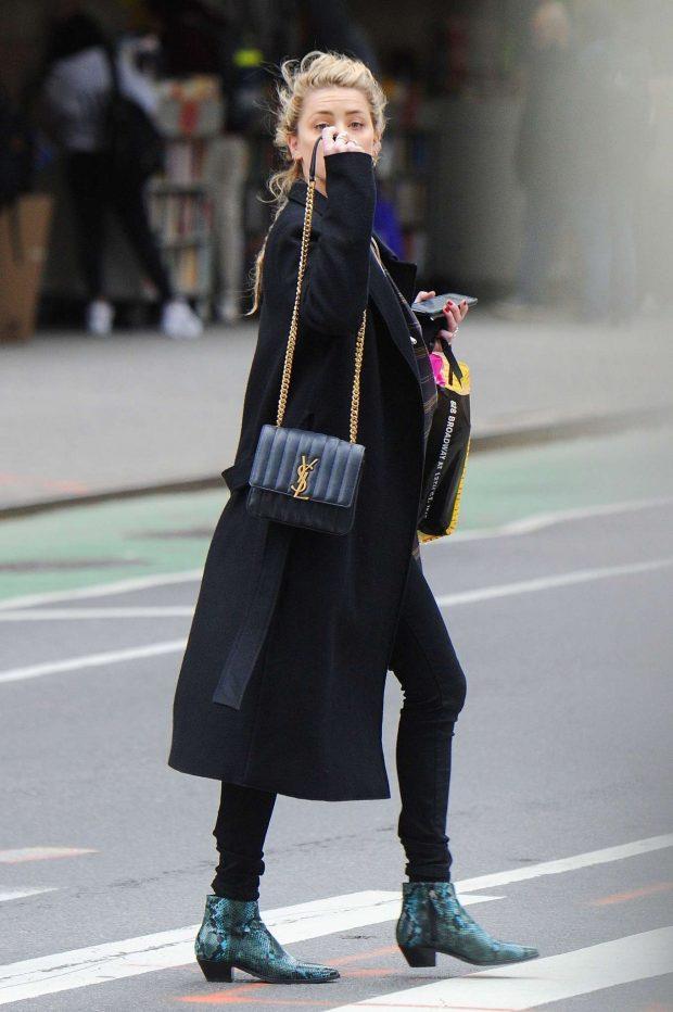 Amber Heard: Shops for Drugstore Makeup -05