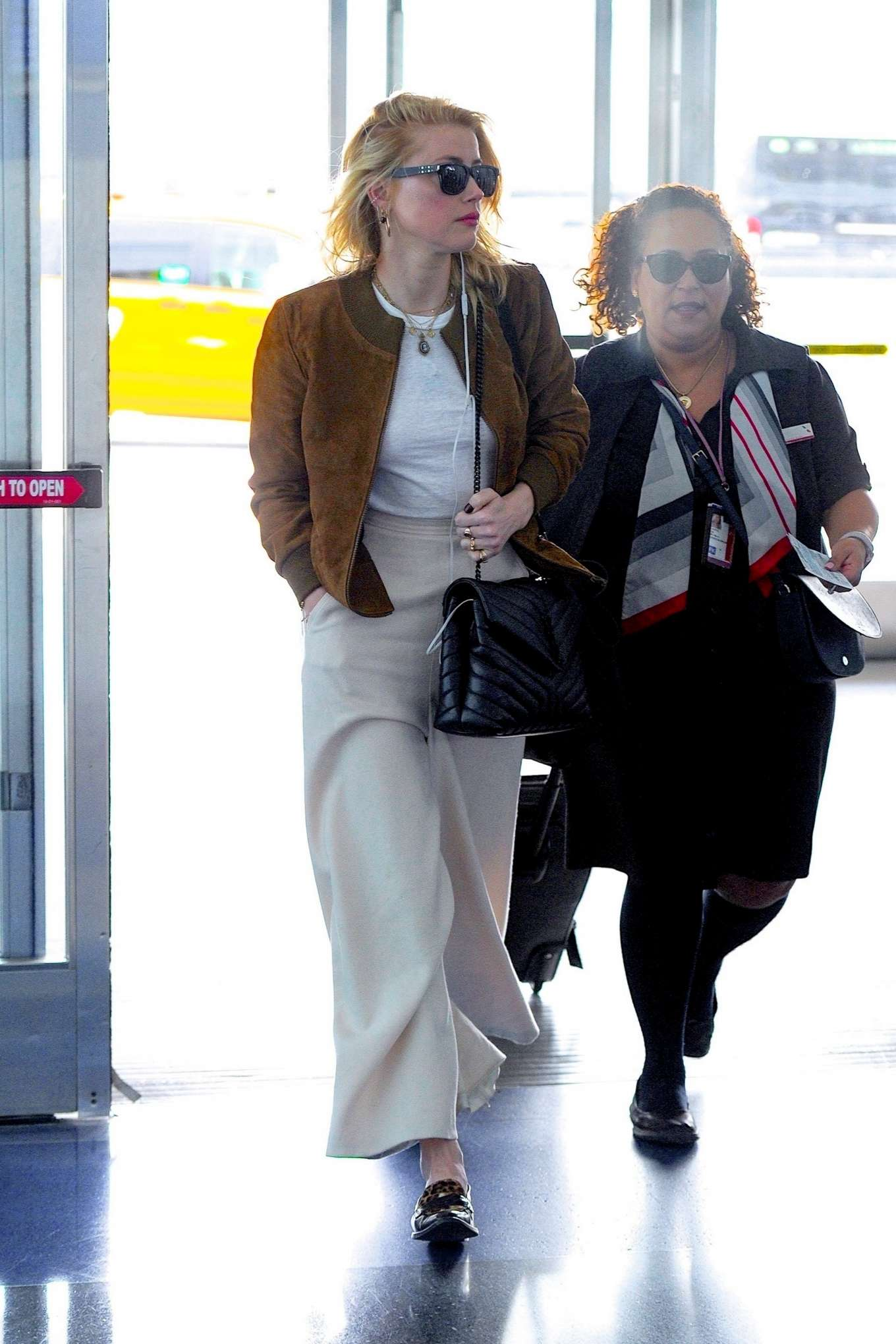 Amber Heard 2019 : Amber Heard – Spotted at JFK Airport in New York-02