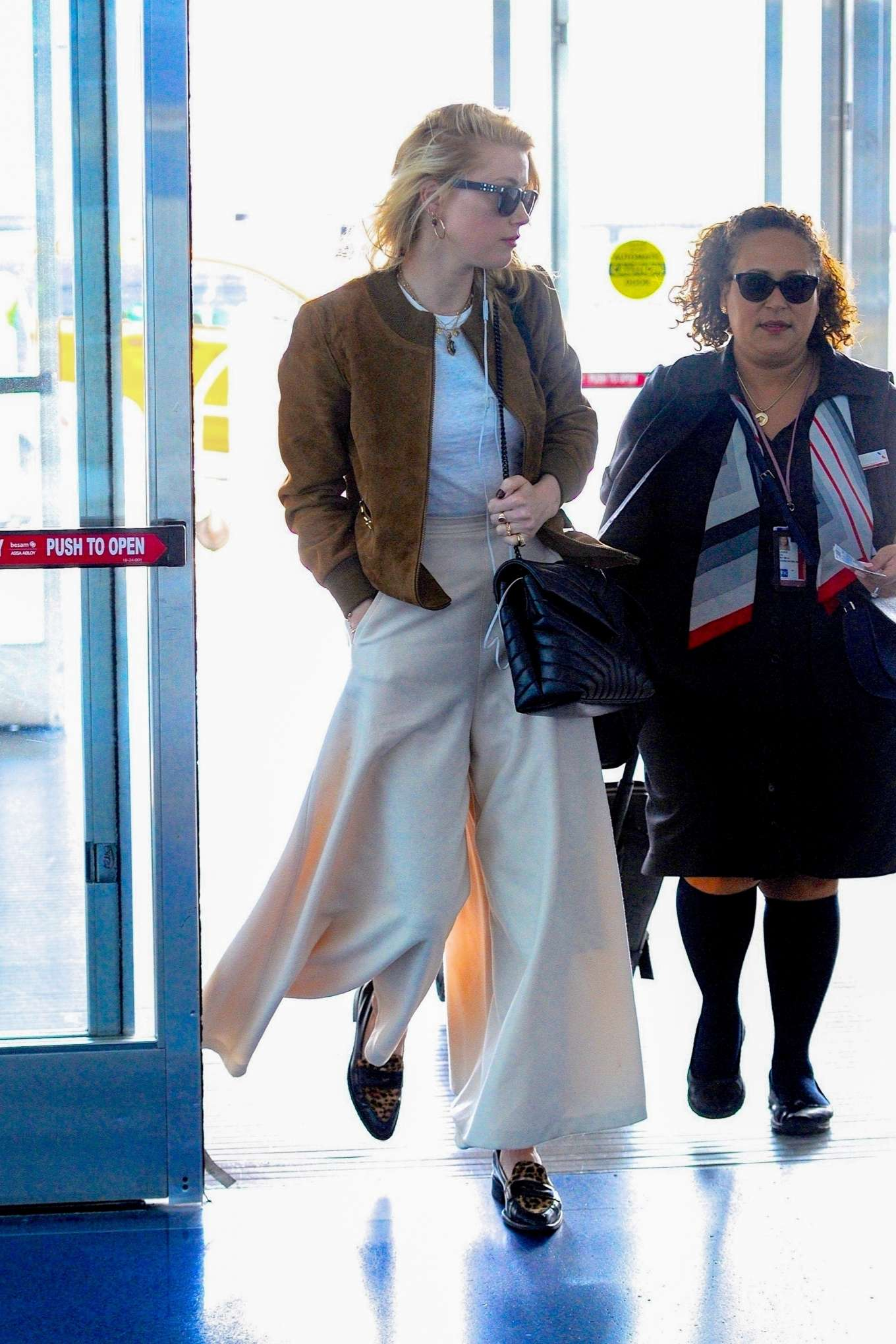 Amber Heard 2019 : Amber Heard – Spotted at JFK Airport in New York-09