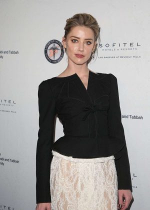 Amber Heard - Syrian American Medical Society Benefit in Los Angeles