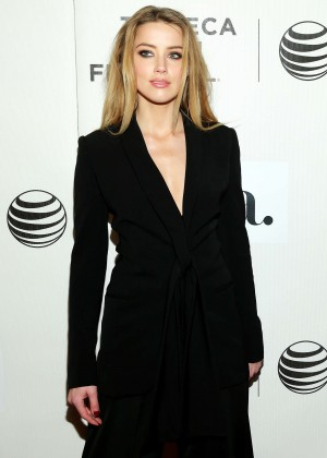 Amber Heard - 'The Adderall Diaries' Premiere in NYC