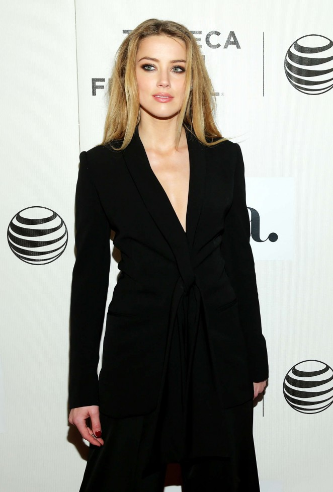 Amber Heard – 'The Adderall Diaries' Premiere in NYC