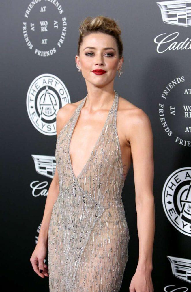 Amber Heard - The Art of Elysium 11th Annual HEAVEN Gala in LA