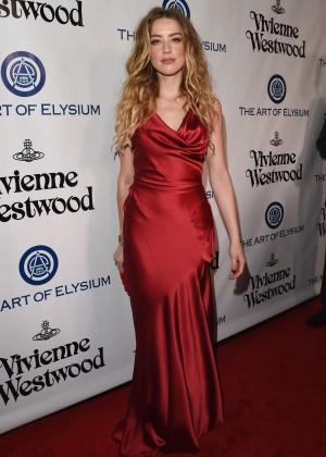 Amber Heard: The Art of Elysium 2016 HEAVEN Gala -02