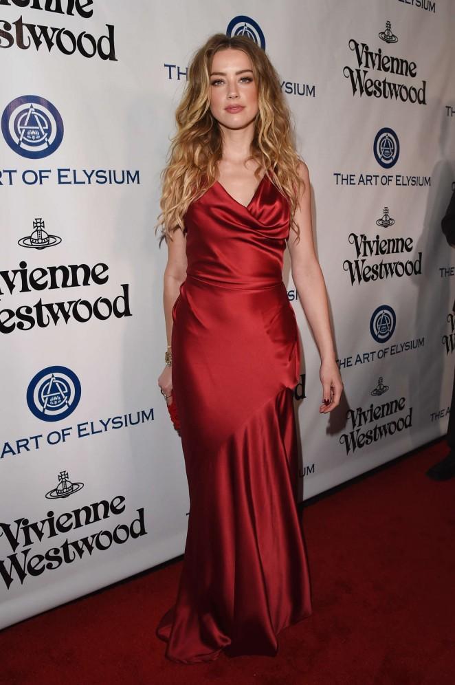 Amber Heard 2016 : Amber Heard: The Art of Elysium 2016 HEAVEN Gala -02