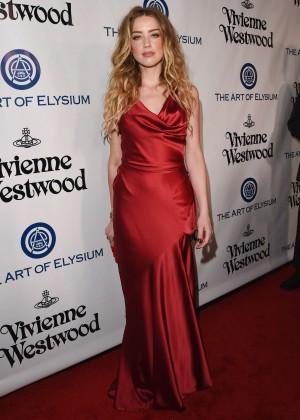 Amber Heard: The Art of Elysium 2016 HEAVEN Gala -07