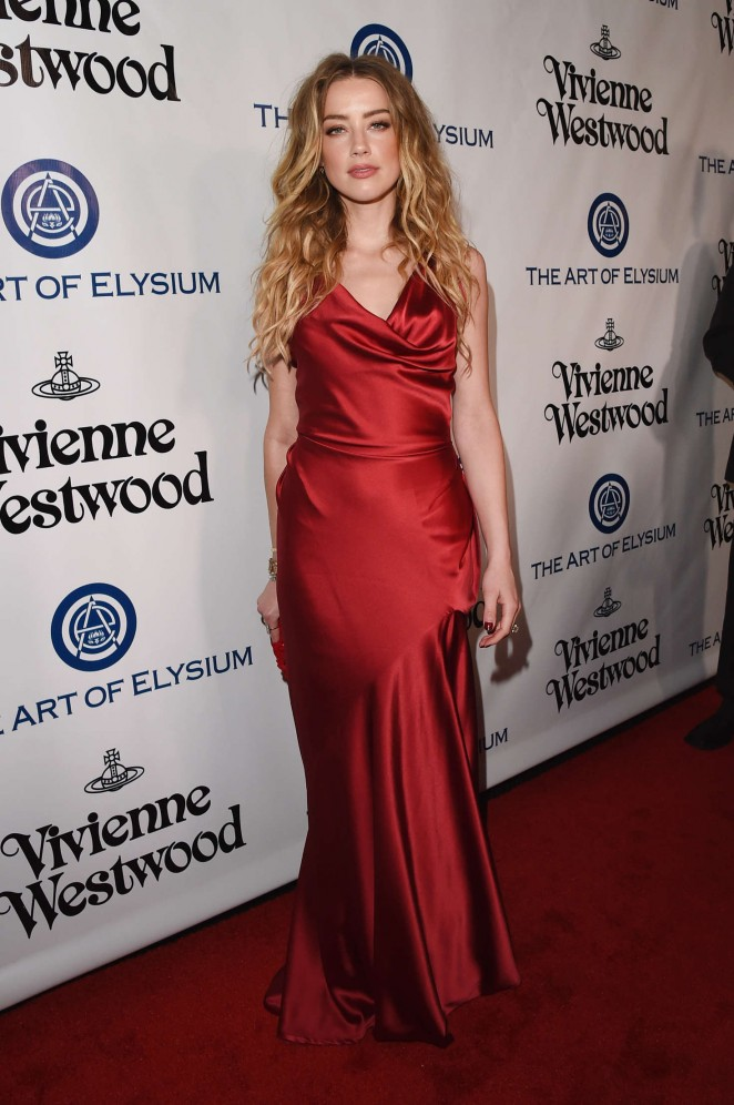 Amber Heard 2016 : Amber Heard: The Art of Elysium 2016 HEAVEN Gala -07