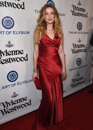Amber Heard: The Art of Elysium 2016 HEAVEN Gala -08