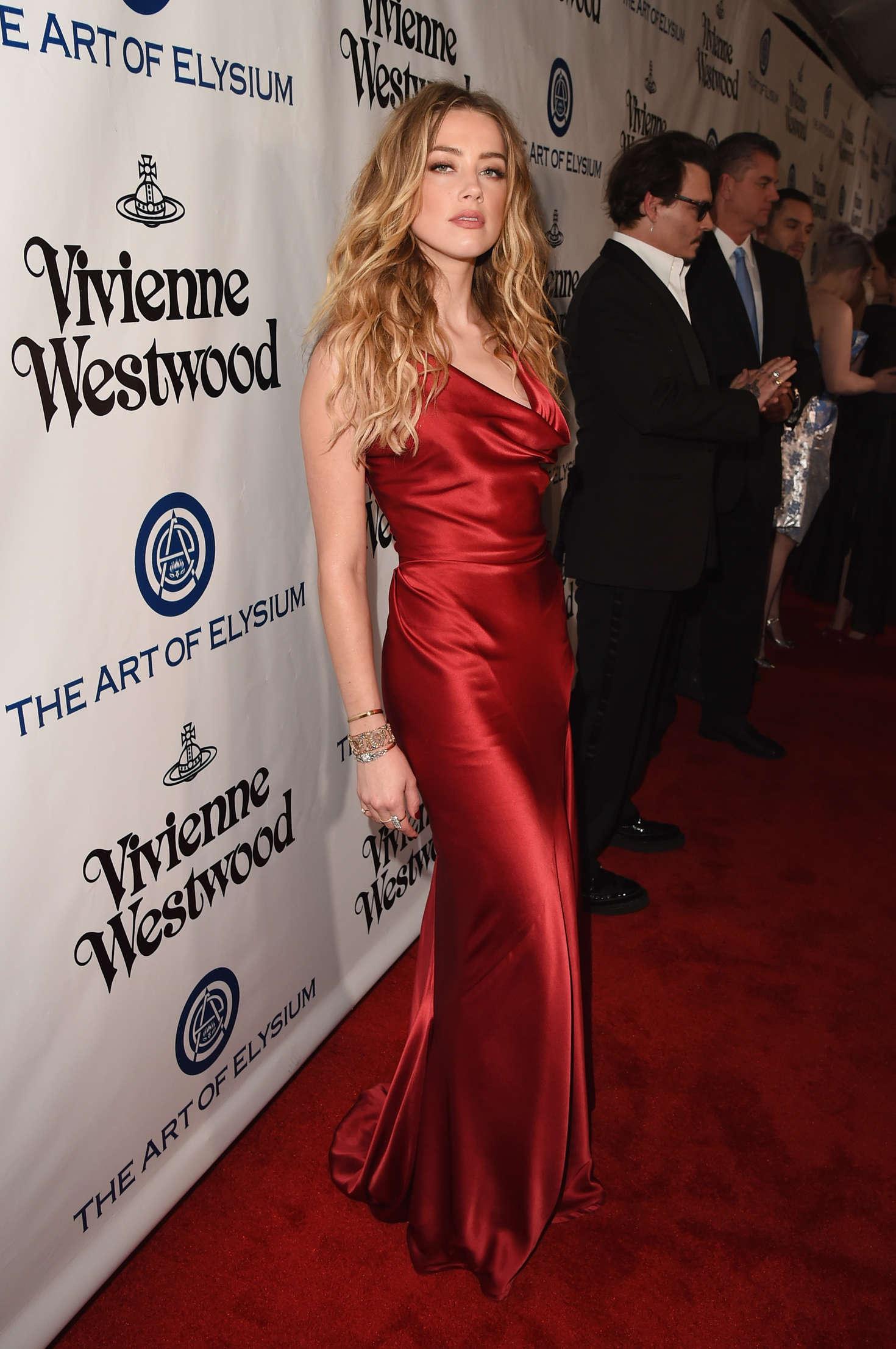 Amber Heard 2016 : Amber Heard: The Art of Elysium 2016 HEAVEN Gala -10