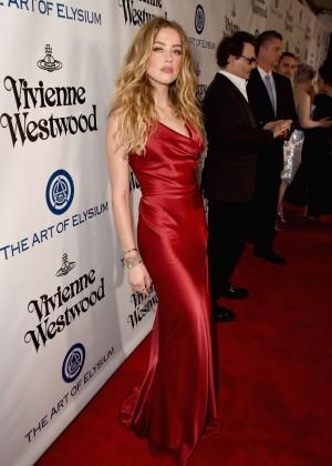 Amber Heard: The Art of Elysium 2016 HEAVEN Gala -12
