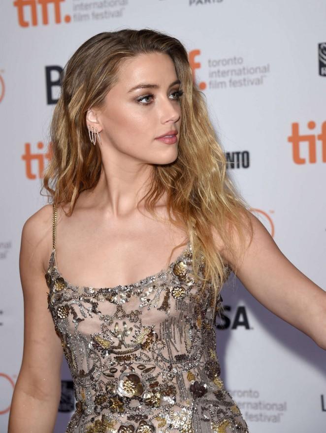 Amber Heard: The Danish Girl Premiere at 2015 TIFF -17