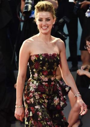 Amber Heard - 'The Danish Girl' Premiere in Venice