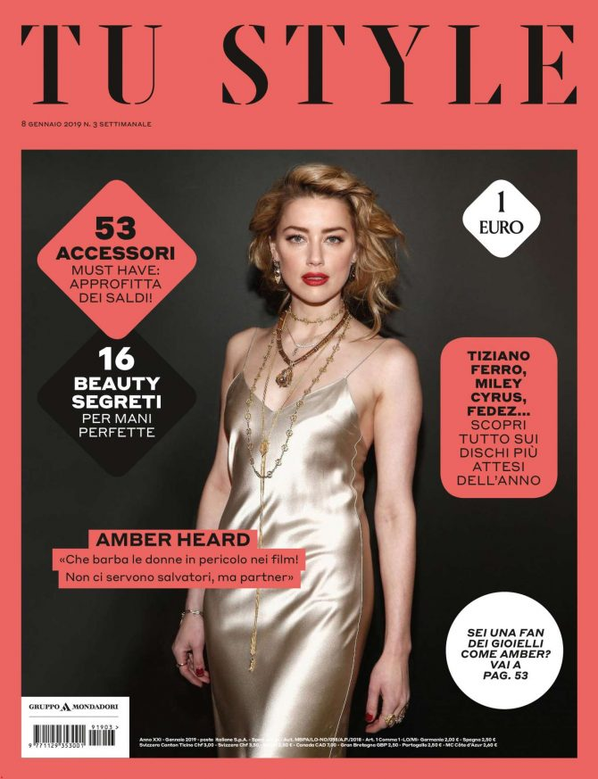 Amber Heard – Tu Style Magazine (January 2019)