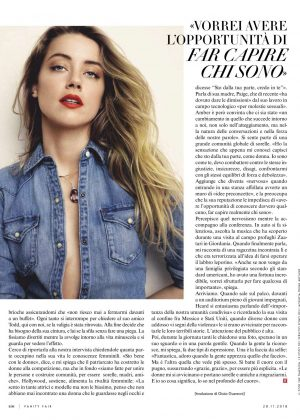 Amber Heard - Vanity Fair Italy Magazine (November 2018)