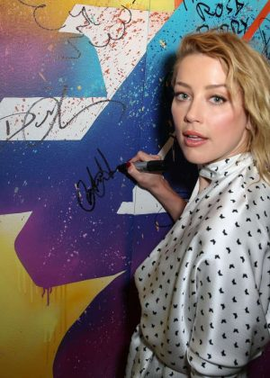 Amber Heard - Variety Studio Presented by AT&T - 2018 TIFF in Toronto