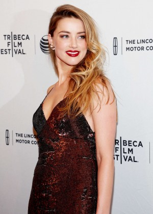 Amber Heard - 'When I Live My Life Over Again' Premiere in NYC