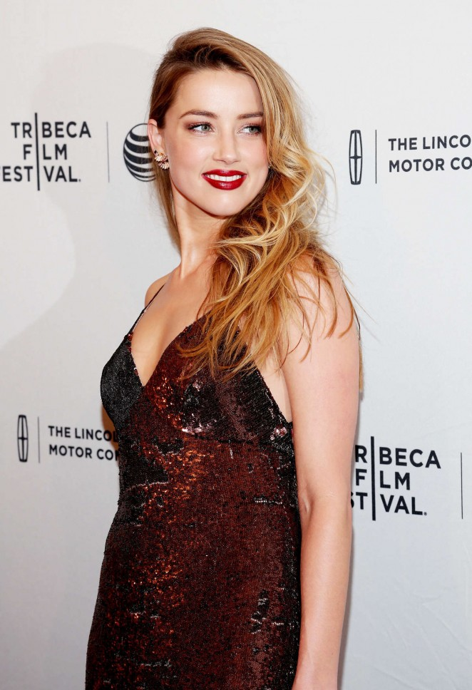 Amber Heard – 'When I Live My Life Over Again' Premiere in NYC
