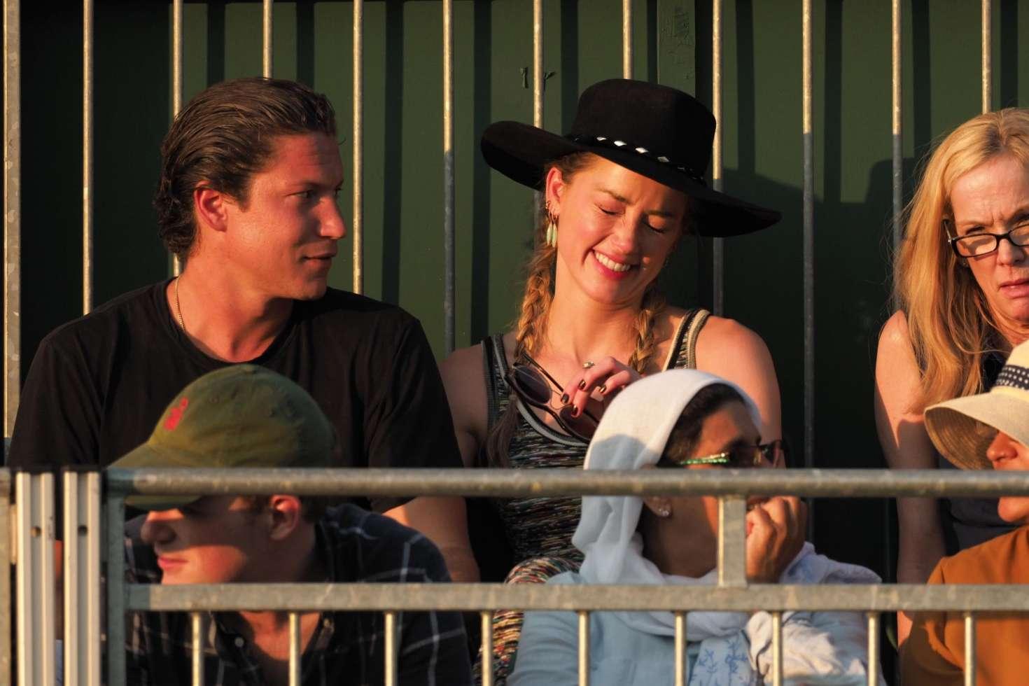 Amber Heard 2018 : Amber Heard: Wimbledon Championship Tennis 2018 -02