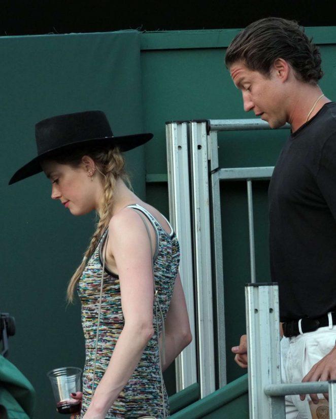 Amber Heard 2018 : Amber Heard: Wimbledon Championship Tennis 2018 -03