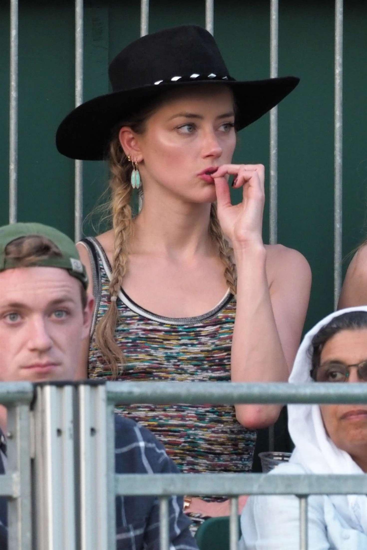 Amber Heard 2018 : Amber Heard: Wimbledon Championship Tennis 2018 -13