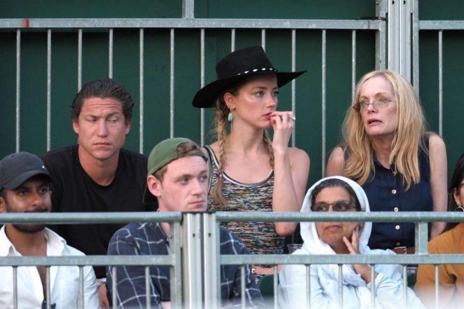 Amber Heard 2018 : Amber Heard: Wimbledon Championship Tennis 2018 -15
