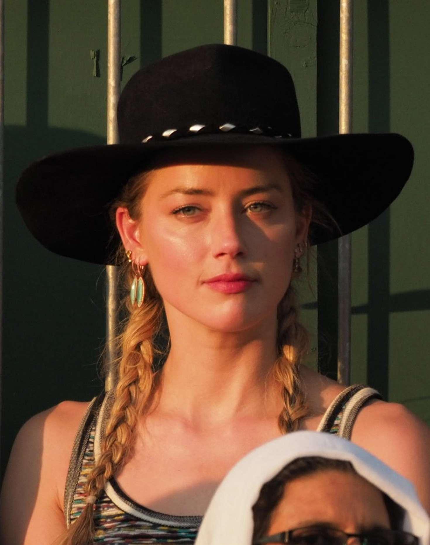 Amber Heard 2018 : Amber Heard: Wimbledon Championship Tennis 2018 -19