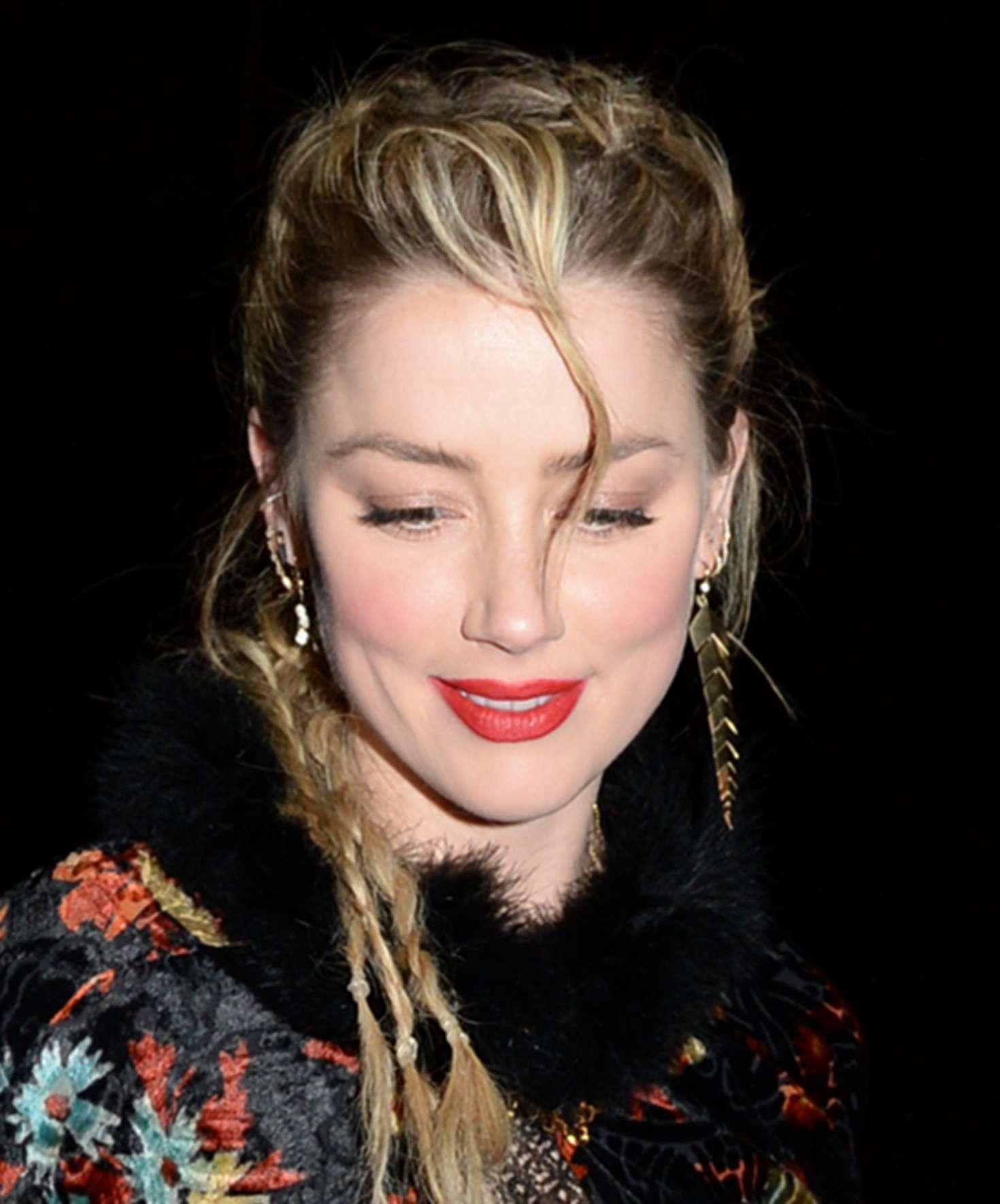 Amber Heard 2019 : Amber Heard: WME Pre-Oscar Party -01