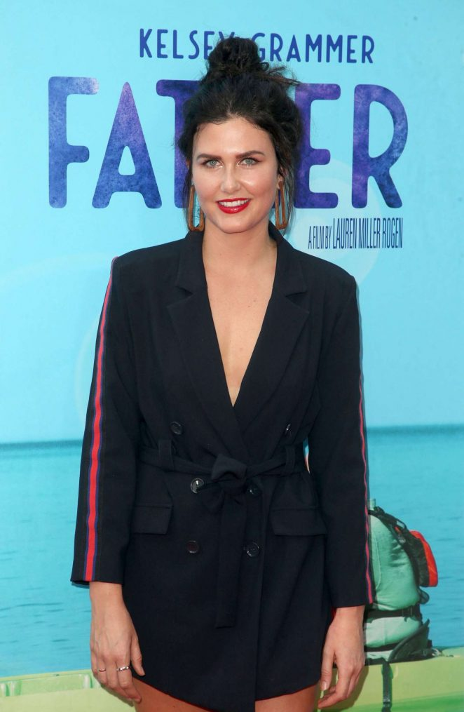 Amber Hodgkiss - 'Like Father' Premiere in Los Angeles